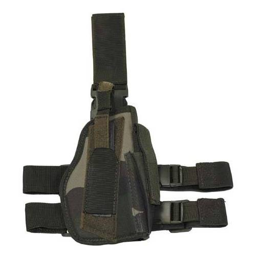 Pistolenholster, CCE-camo, rechts, Beinholster, Holster