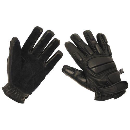 "Lederhandschuhe, ""Protect"", schwarz, schnitthemmend"
