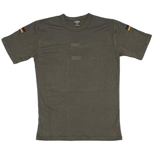 BW Tropenhemd, oliv, Klett, Nationalitätsabzeichen
