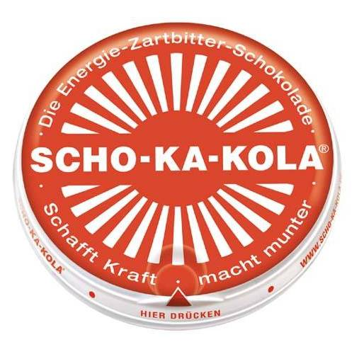 "Scho-Ka-Kola, ""Zartbitter"", 100 g, 7% Mwst. Schokolade"