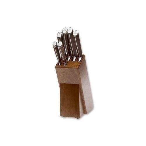 Rio Forge Wood Kochmesser-Set mit Messerblock