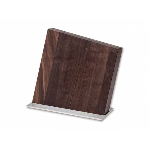 Magnet Messerblock Style Walnuss Messerhalter Messerständer bis 8 Messer