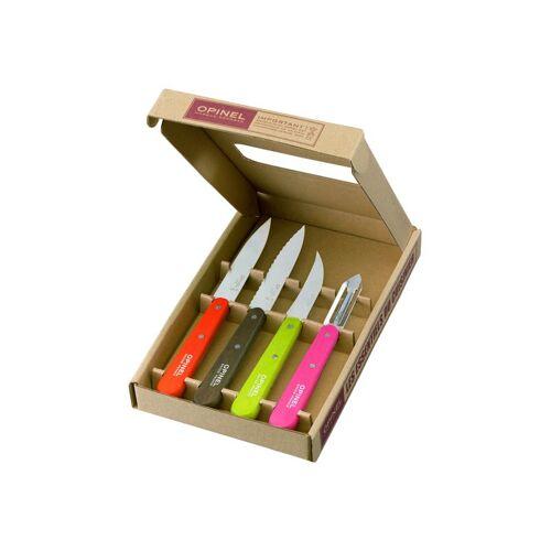 Opinel Küchenmesser-Set,4-teilig,rostfrei,