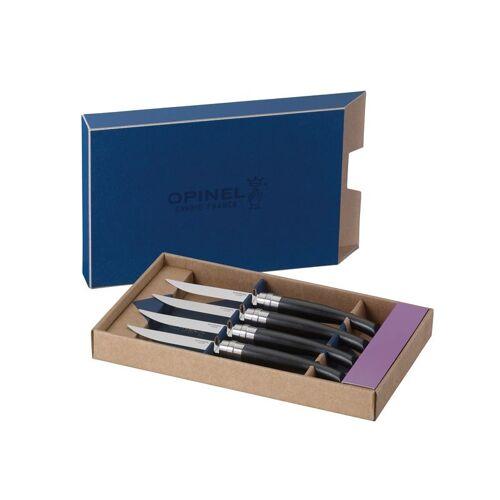 Opinel-Steakmesser,4er Set,Ebenholz,