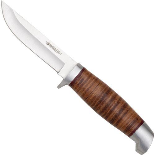 Outdoormesser Fahrtenmesser mit Lederscheide
