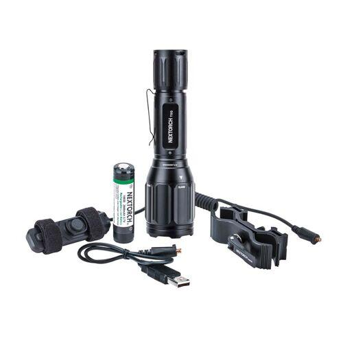 Nextorch, T5G SET Taschenlampe, Kabelschalter, Halterung RM85S, Lithium-Ionen-Akku
