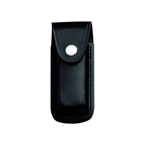 Messer-Etui,sws Leder,eingeschnittene Schlaufe für Messer + 13cm Heftlänge