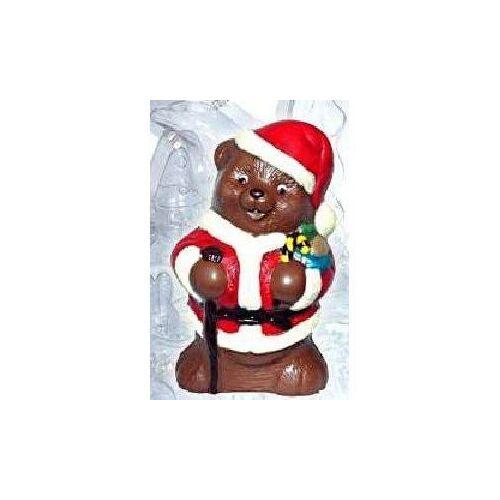 Schokolade-Hohlform Teddy-Nikolaus