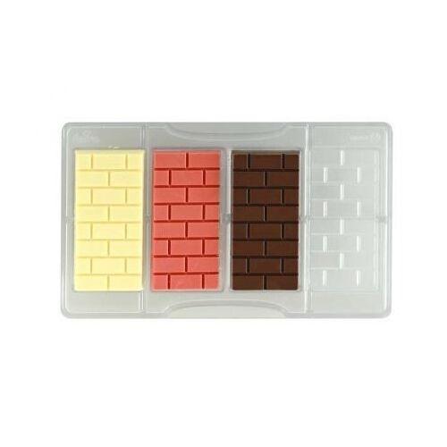 Schokoladeform Täfelchen Mauer
