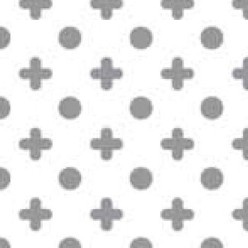 Dekorschablone Kreuz / Punkte 60 x 40 cm