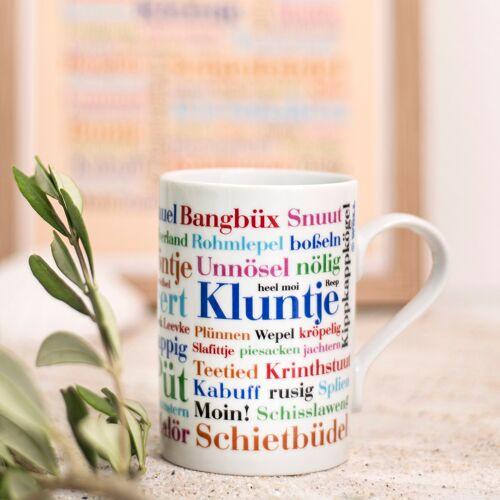 Kaffeebecher Ostfriesische Wörter