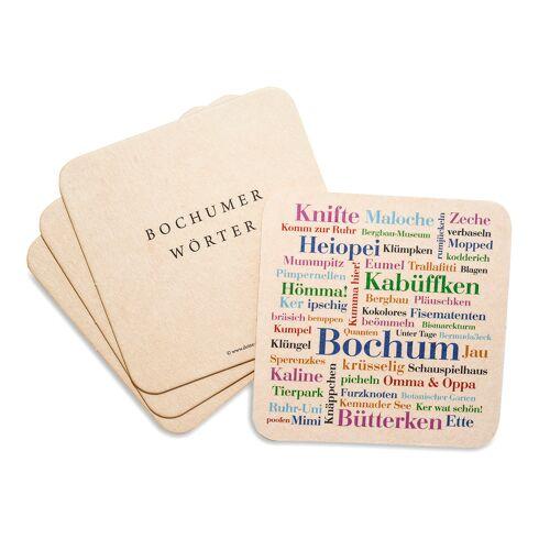 Bierdeckel Bochumer Wörter - Untersetzer