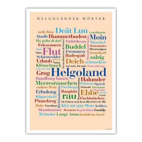 Poster Helgoländer Wörter