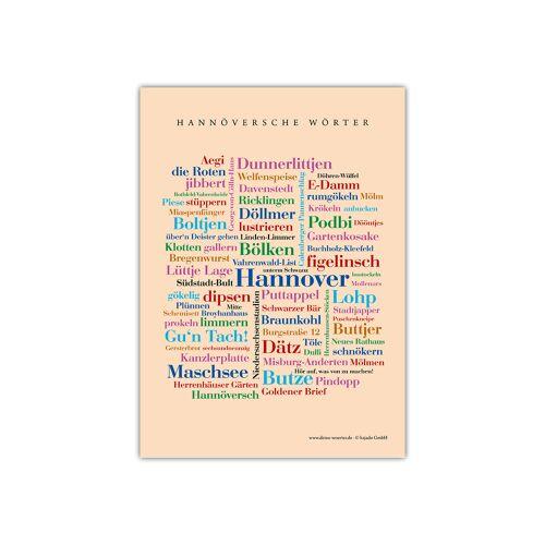 Postkarte Hannöversche Wörter (DIN A6)