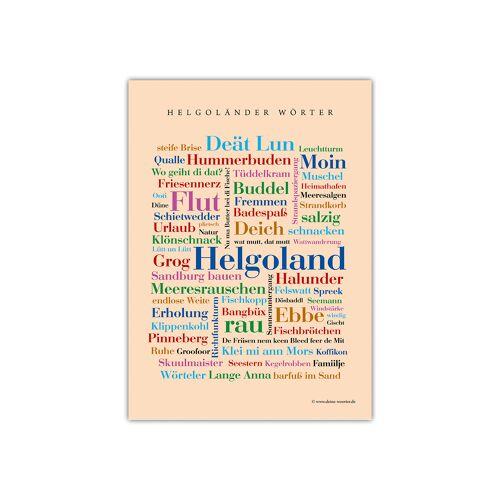 Postkarte Helgoländer Wörter (DIN A6)