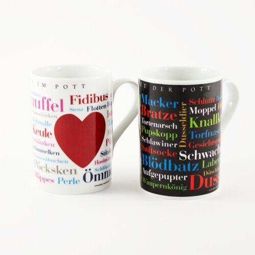 """Zwei Tassen Ruhrpott """"Käffken für Zwei"""""""