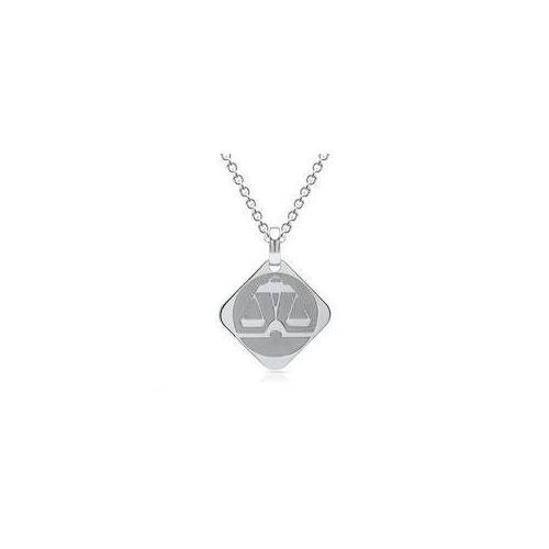 Unique Silberkette Sternzeichen Waage