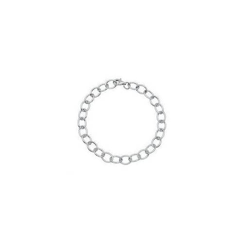 Unique 925 Silber Bettelarmband für Charms