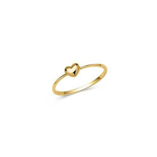 Unique Zierlicher 333er Goldring mit Herzform