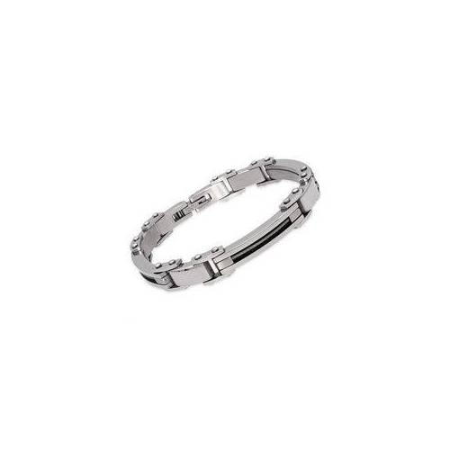 Unique Edelstahl Armband Stahlseil Elemente 21cm