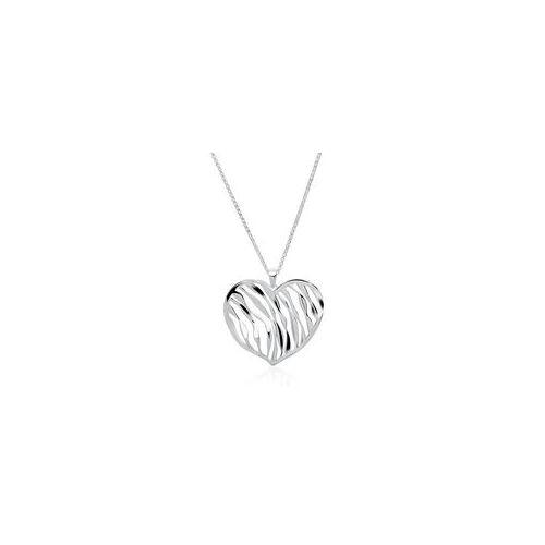 Unique Herzkette aus 925er Silber