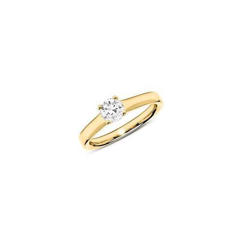 Unique 18K Goldring mit Diamant 0,50 ct.