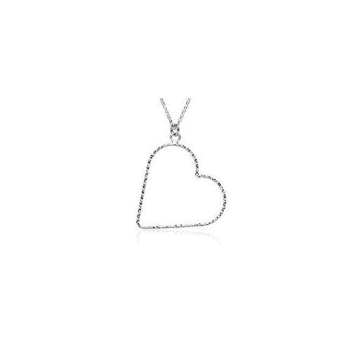 Unique Herzkette aus 925er Sterlingsilber