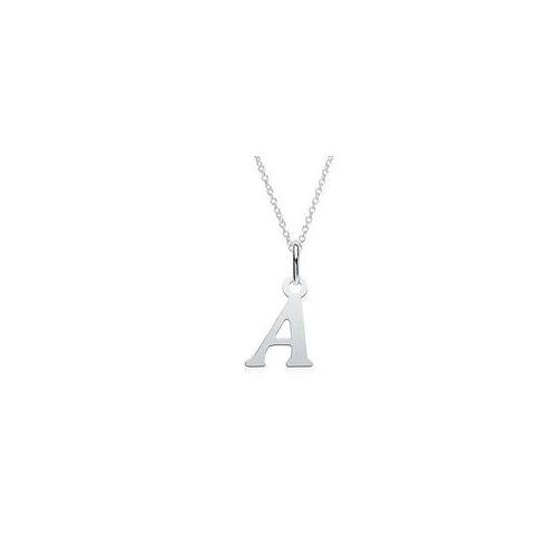Unique Kette mit Buchstabenanhänger A aus 925er Silber