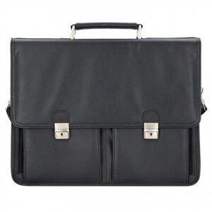Alassio Veneto Aktentasche 42 cm Laptopfach schwarz