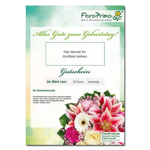 Digitaler Blumengutschein Alles Gute zum Geburtstag