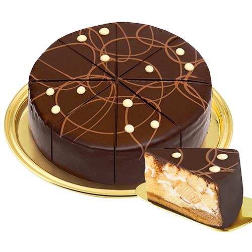 Dessert-Baumkuchenspitzentorte