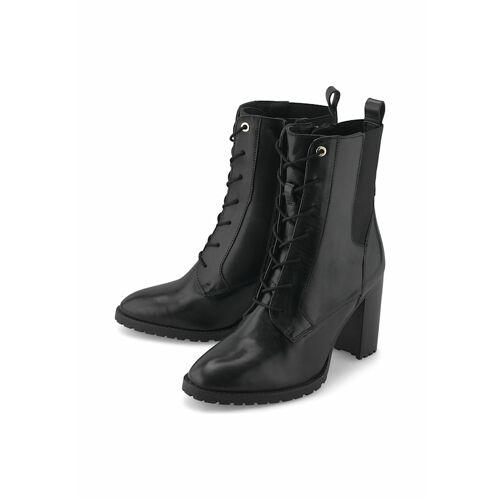 COX Schnür-Stiefeletten Schnür-Stiefelette COX schwarz  38,39,40,41
