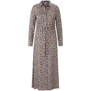 Emilia Lay Abendkleid Hemdblusenkleid Emilia Lay taupe/schwarz  42,44,46,48,50,52,54,56