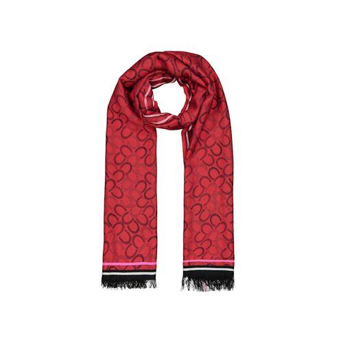 Codello Logo-Schal aus edler Viskose Codello dark rose