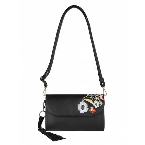 Turned Love Clutch Turned Love schwarz-floral