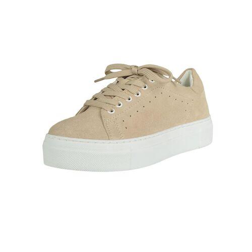 COX Plateau-Sneaker Plateau-Sneaker COX beige  36,37,38,39,40,41,42