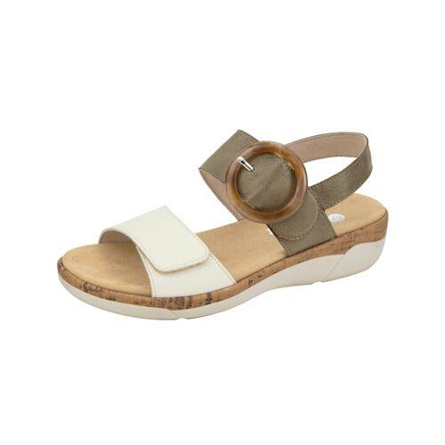 Remonte Sandale Remonte Khaki/Creme-Weiß  36,37,38,39,40,41,42,43,44,45