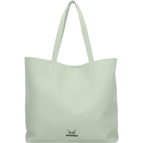 Sansibar Shopper Tasche 34 cm Sansibar mint  001