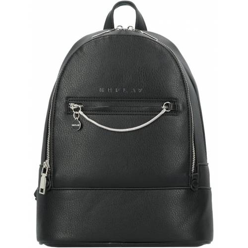 REPLAY Glam Basic City Rucksack 32 cm REPLAY black  001 001