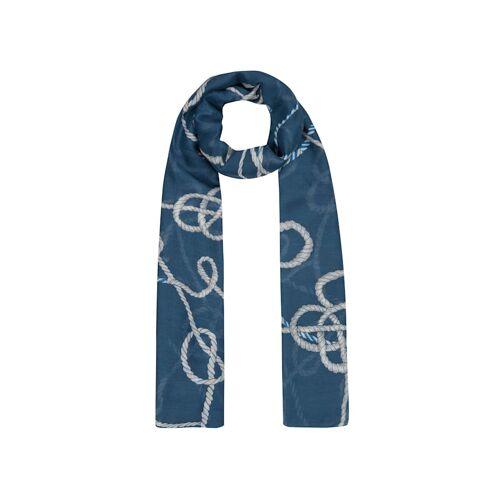 Codello Maritimer XL-Schal aus luftiger Viskose Codello navy blue