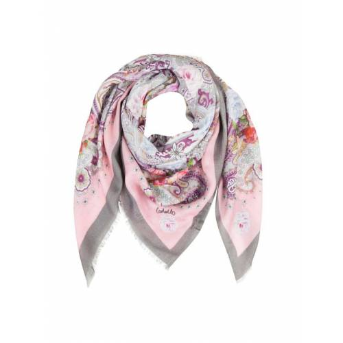 Codello Edles Paisley-Tuch aus Modal und Seide Codello dark rose