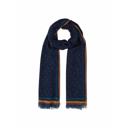 Codello Logo-Schal aus edler Viskose Codello dark blue