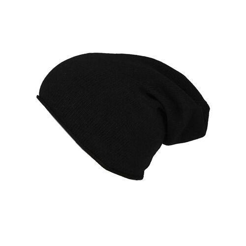 Zwillingsherz Mütze Meike Zwillingsherz schwarz  001