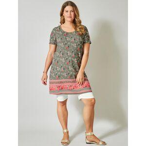 Janet & Joyce Jersey-Kleid mit Blumen-Print Janet & Joyce Khaki  42,44,46,48,50,52,54,56,58