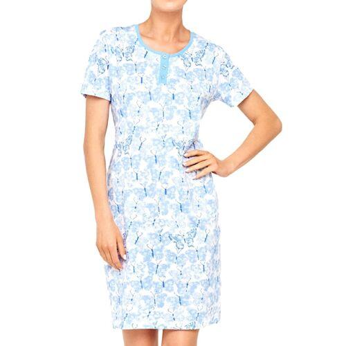 Cybèle Nachthemd Cybèle weiß-blau  40,42,44 40,42,44