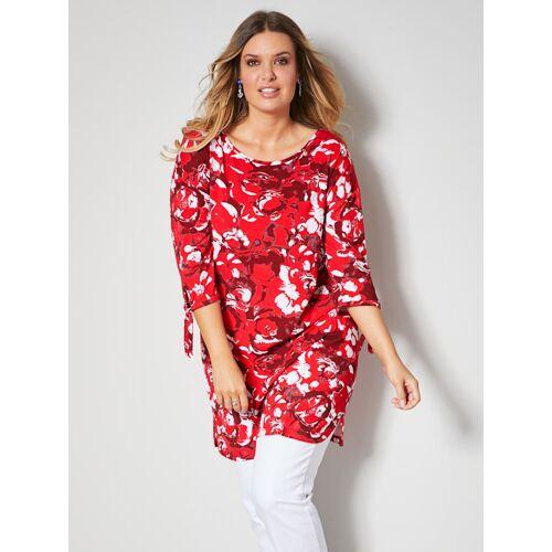 Janet & Joyce Shirt Janet & Joyce Rot/Weiß  42,44,46,48,50,52,54,56,58