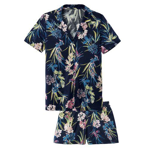 Calida Kurz-Pyjama Calida dark blue  44 44