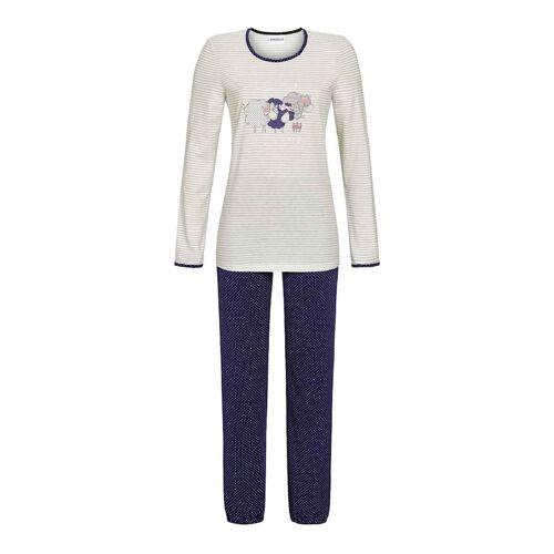 Ringella Pyjama, lang Ringella silber  42,44,46,50,52 42,44,46,50,52