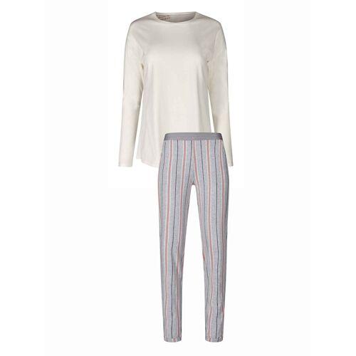 Skiny Pyjama, lang Skiny ivory  44 44