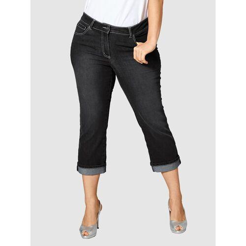 Dollywood Straight Cut Jeans Amy Dollywood Schwarz  42,44,46,48,50,52,54,56 48,50,52,54,56,42,44,46